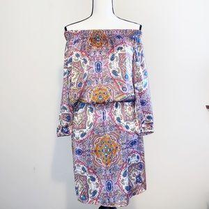 NWT Kas New York Tendence Paisley Dress Medium